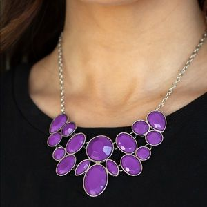 Demi-Diva purple necklace